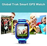 Global Trak Smart Watch with GPS Tracker Live Sharing Location Finder Camera SOS