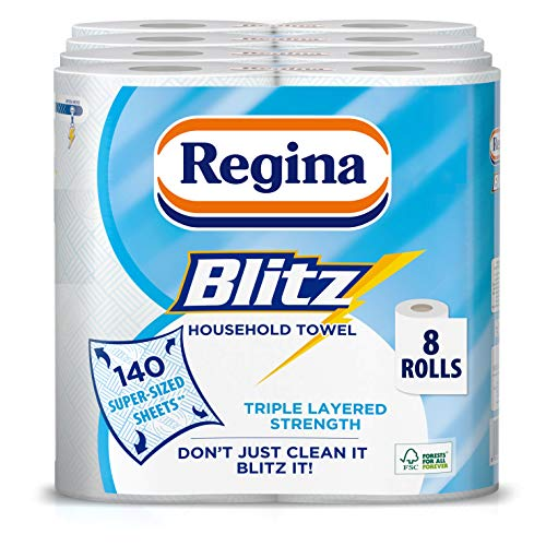 Regina Blitz hogar toallas–4unidades, total 8