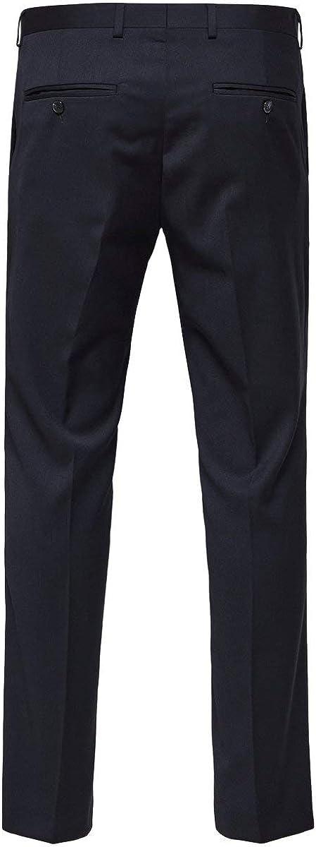 SELECTED HOMME Slhslim-mylobill Navy Trouser B Noos Pantalones de Traje para Hombre