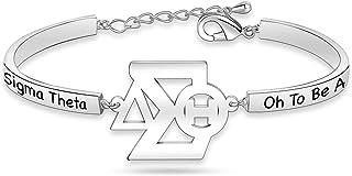 Delta Sigma Theta Necklace 1913 Sorority Bracelet DST Inspired Greek Sorority Gift for Women