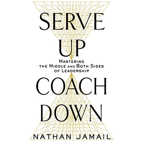 Serve Up, Coach Down audiobook cover art