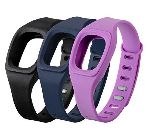 yayago 3er Set Ersatzarmband für Fitbit Zip Wechsel Band Ersatz Armband Fitness Sport