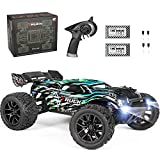 【High Speed Racing Experience】: This RC Car equipped with powerful 380 brushed motor and Shaft-Driven 4WD to give you 36km/h driving speed, you can drive it on sand, grass, wet mud, swamp, to provide you the realistic racing and off-road game experie...