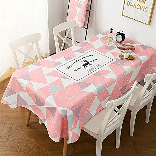 DDMY Tafelkleed Katoen Linnen Tafelkleed Waterdicht Olie-Proof Anti-Hot Restaurant Tafelkleed Ronde Tafel Theetafel Stof Kunst