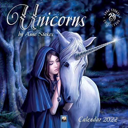 Unicorns by Anne Stokes – Einhörner von Anne Stokes 2022: Original Flame Tree Publishing-Kalender [Kalender] (Wall-Kalender)