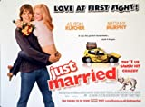 Just Married Ashton Kutcher Brittany Murphy Poster