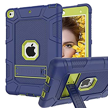 iPad 6th Generation Cases iPad 5th Generation Case iPad 9.7 Inch Case Hybrid Shockproof Rugged Drop Protection Cover Built with Kickstand for iPad 9.7 inch A1893 / A1954 / A1822 / A1823
