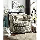 Rosevera Swivel accent chair, Cream