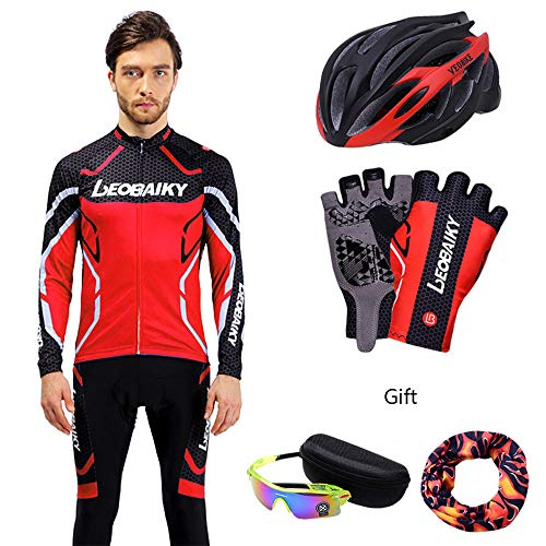 NBZH Ciclismo Camisetas Set para Bicicleta de Lujo al Aire Libre Bolsa...