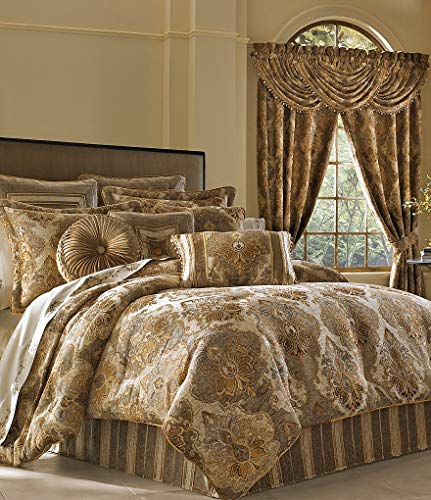 Buy Bargain J. Queen New York Bradshaw Natural Comforter Set - King