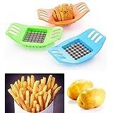 favolook French Fry cortador de patatas Chip corte frutas Slicer Chopper cortador hoja cortador de verduras