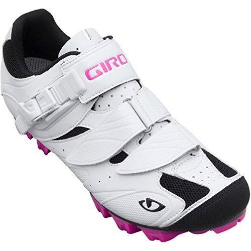Giro Manta Women MTB 14/15 Damen SPD Radschuhe Fahrradschuhe Systemschuhe 20277(38,5,White/RHODAMINE)