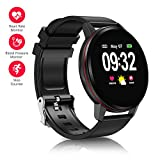 ANSGEC Fitness Tracker, Activity Tracker Watch with Heart Rate Monitor, Color Screen Smart Bracelet with Sleep Monitor,IP67 Waterproof Smart Bracelet for Android and iOS