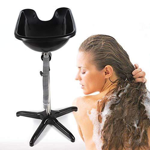 DiLiBee Salon Friseur Haar Waschbecken Ablassen Waschen Haarbecken Friseurbedarf Waschbecken Shampoo-Becken Schüssel Waschbecken Portable