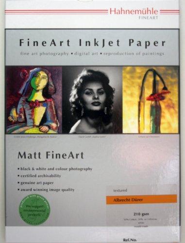 Hahnemühle Digital FineArt Albrecht Dürer Papier,210 g/m2, wit 297 x 420 mm wit