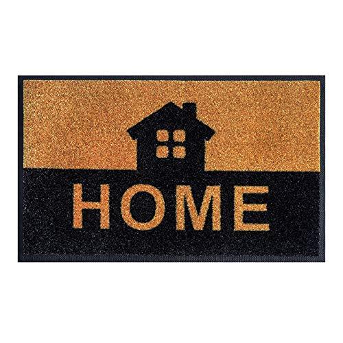 Corlidea - Felpudo de la serie Home de 29,5 x 17 pulgadas, impermeable, lavable, resistente a la suciedad, antideslizante, para puerta de casa, pasillo, entrada, cocina, dormitorio