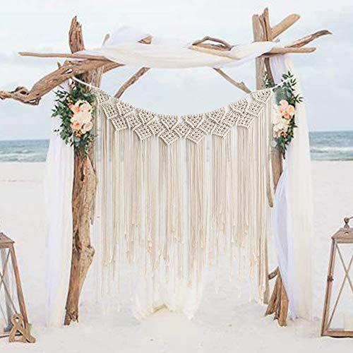 Gute Macrame Wall Hanging, Large Woven Wall Hangings, Boho Cotton Handmade...