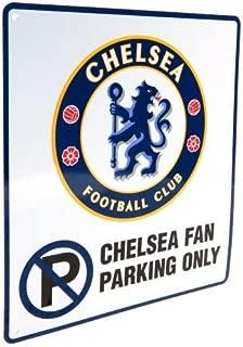 Chelsea F.C - Netal No Parking Sign