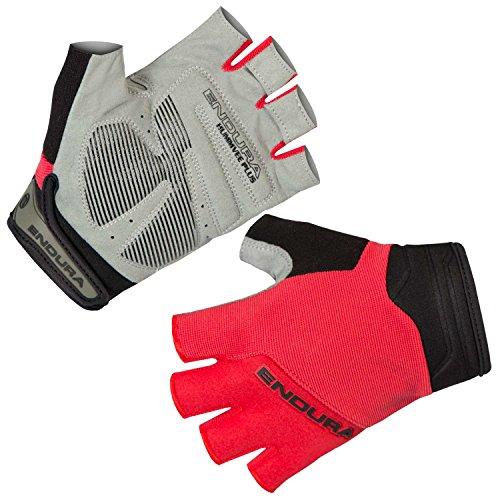 Endura Hummvee Plus - Guantes de ciclismo para bicicleta de montaña, Hombre, color rojo, tamaño large
