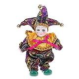 HomeDecTime Muñeca Triangel de Porcelana Italiana Bonita de 16 Cm con Disfraz, Decoración de Exhibición para El Hogar # 4