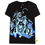 Disney Villains x Heidi Klum Hades, Scar, Dr Facilier, Jafar T-Shirt, Black, L