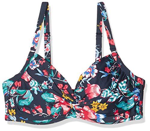 ESPRIT Damen Jasmine Beach uw.Twist BC Bikinioberteil, Blau (Ink 415), 80G(Herstellergröße: 40 G)