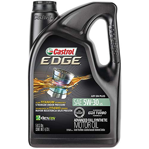 Castrol 03084 EDGE 5W-30 Advanced Full Synthetic Motor Oil, 5...