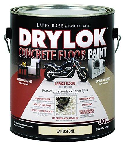 DRYLOK Concrete Floor Paint, 1 Gallon, Sandstone