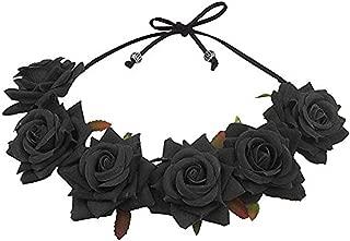 Best black flowers for hair Reviews