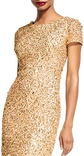 Champagne gold wedding dress _image3