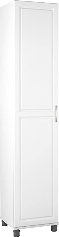 SystemBuild Kendall 16 Utility Storage Cabinet White