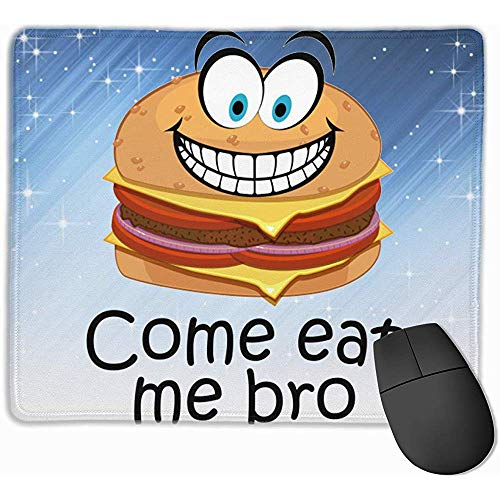 Kom bij mij Bro Rectangle anti-slip rubberen muismat Gaming Mouse Pad