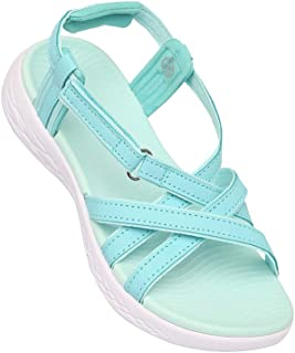 Life Womens Casual Wear Slipon Wedges_Turquoise
