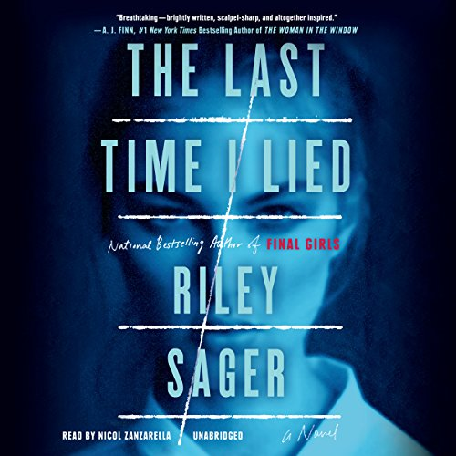 The Last Time I Lied audiobook cover art