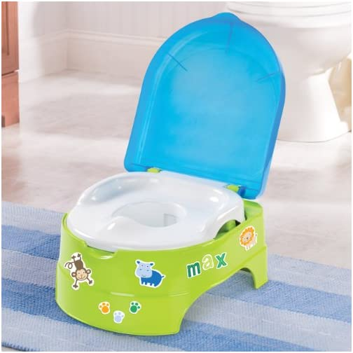 Summer My Fun Potty, Neutral  – 3-Stage Potty Training Toilet – Includes Colorful Stickers, Removable Training Seat, Non-Slip Rubber Feet, and Ability to Convert into Stepstool 5