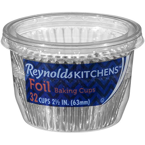 Reynolds Foil Cupcake Liners, 32 Count (Pack of 24) (768 Total)