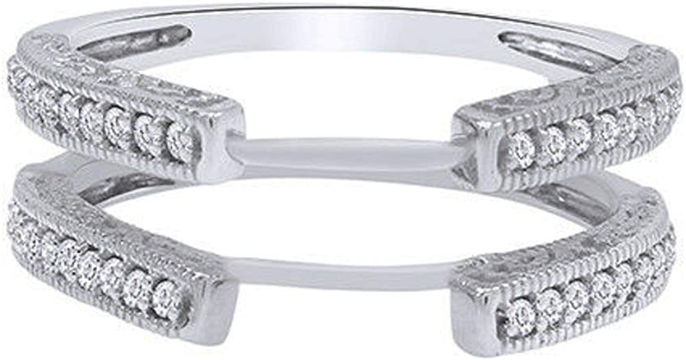 Palaksh New Nippon regular agency arrival Jewelry Created Round Cut in Diamond Sterling 925 White