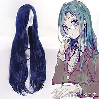 Game New Danganronpa V3 Cosplay Wig Tsumugi Shirogane Cosplay Hair Wig Heat Resistant Synthetic Wig Halloween Party Women ...