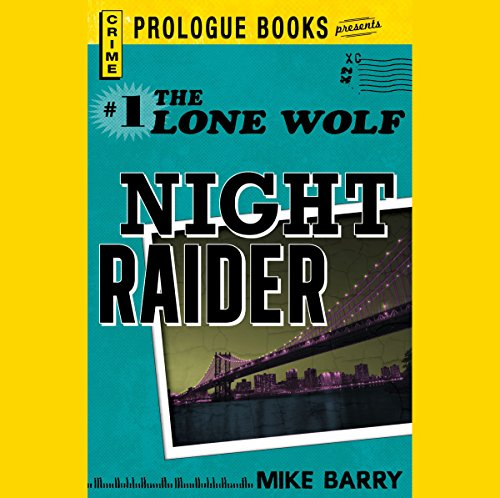 Night Raider audiobook cover art