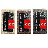 13 di ilaria riso 2 carnaroli integrale, 2 nero venere, 2 rosso ermes confezione da 6 pezzi, 1 kg l'uno