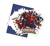 Speelgoed 85157P - Spiderman Einladungskarte