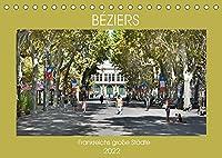 Frankreichs grosse Staedte - Béziers (Tischkalender 2022 DIN A5 quer): Spaziergang durch die Stadt des Weinhandels (Monatskalender, 14 Seiten )