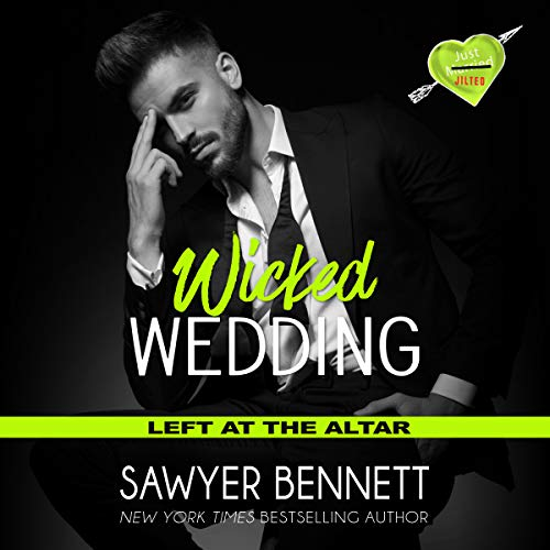 Wicked Wedding     Left at the Altar, Book 4              By:                                                                                                                                 Sawyer Bennett                               Narrated by:                                                                                                                                 Lance Greenfield,                                                                                        Kirsten Leigh                      Length: 6 hrs and 9 mins     61 ratings     Overall 4.4