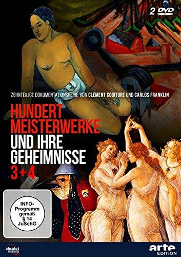 Hundert Meisterwerke und ihre Geheimnisse 3+4 [2 DVDs]