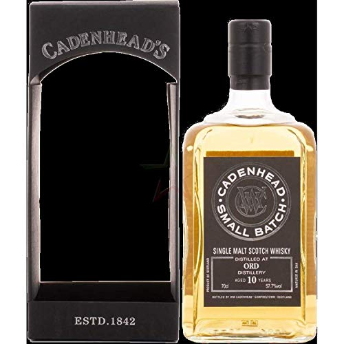 Cadenhead's ORD 10 Years Old SMALL BATCH Single Malt Scotch Whisky 2008 (1 x 0.7 l)