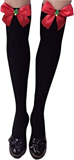 Girls Knee High Socks - Kingwo School Uniform Cable Knit Over The Long Boot Stockings 1 Pair