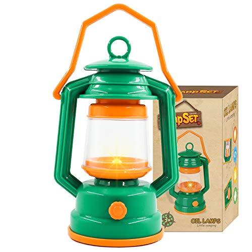 Victarvos Jouet Lamp de Camping pour Enfants, Lampe Jouet Enfant de 3+ Ans,Veilleuse, Tente de Jeu...