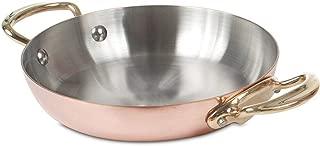 Mauviel Copper Dish Round Handles 8 inch