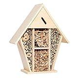 SuyunPP Maison des Insectes/Refuge De Coccinelle en Bouleau/Hôtel des Insectes/Jardin De La Cour