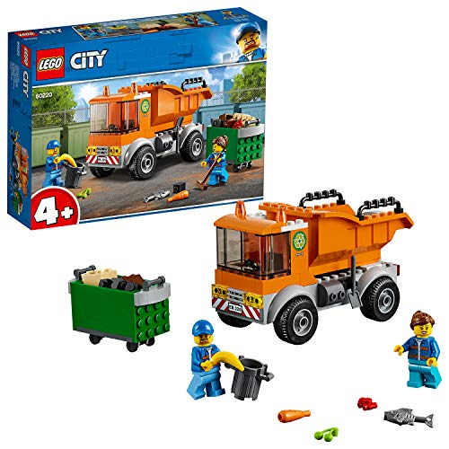 LEGO City Great Vehicles Garbage Truck Toy, Minifigures & Accessories, Building Sets for Kids